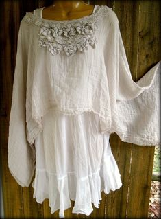 Reminds me of my High School graduation photo.  Gauze Lace top ~ Paris Rags by Pmarie