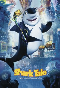Shark Tale, Star Wars, Dreamworks, Films, Movies, Popcorn, Movie Posters, Postcards, Poster