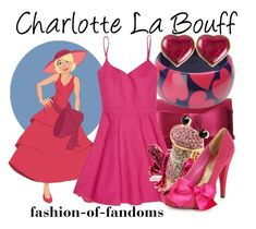 """Charlotte La Bouff"" by fofandoms ❤ liked on Polyvore"