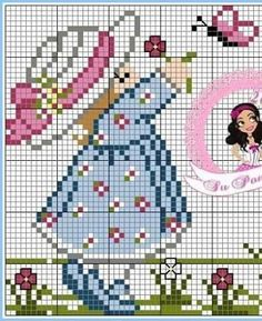 Cross Stitch Designs, Cross Stitch Patterns, Cross Stitch For Kids, C2c, Hand Embroidery, Alphabet, Diy And Crafts, Sewing Patterns, Projects To Try