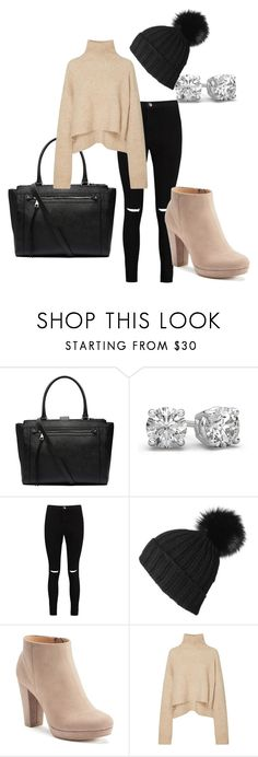 """""""Untitled #117"""" by missmolisha ❤ liked on Polyvore featuring Witchery, Boohoo, Black and LC Lauren Conrad"""