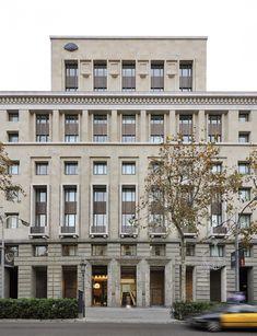 fachada de hotel mandarin oriental, barcelona
