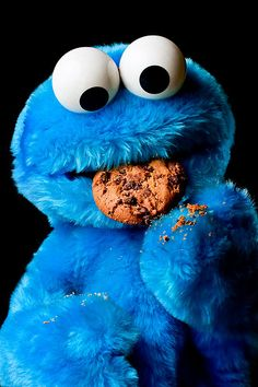 Cookie Monster on Pint...