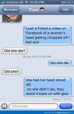 30 Epic Funniest Text Message Responses Fail Ever 16 Mothers And Daughters Who Sent Each Other Some Seriously Funny Texts Outstanding move 37 Funny Text Messages - 27 Texts Hilarious Memes can't stop Laughing 40 Funny Text Messages For You If You D. Funny Texts Jokes, Text Jokes, Cute Texts, Stupid Funny Memes, Funny Relatable Memes, Epic Texts, Funny Stuff, Funny Text Fails, Stupid Questions Funny