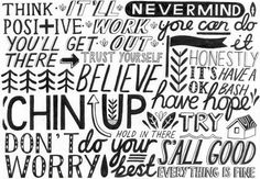 great pattern of sayings by Sarah Abbott