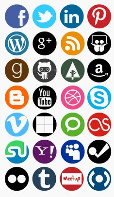 Using the Free Social Media Vector Icon Set as a Source File for Other Icon Sets #socialmediaicons