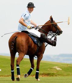 Prince Harry - So dashing on his horse, isn't he?