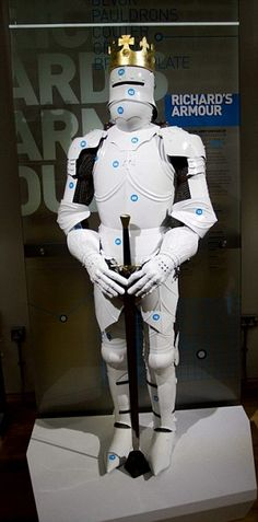 Reconstruction of Richard III's armour looks like a stormtrooper