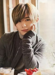 Yama-Chan! Stop being so gorgeous! Wait, you can't.
