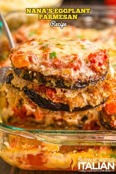 This eggplant parmesan recipe is easy to follow no matter what your experience is in the kitchen. Make it just like Nana used to! Antipasto Pasta Salads, The Slow Roasted Italian, Homemade Marinara, Eggplant Parmesan, Penne Pasta, Feeding A Crowd, Easy Salads, Vegetable Dishes, Quick Easy Meals