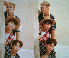 Rap Monster, Jin and J-Hope ❤ #BTS #방탄소년단 Summer Package in DUBAI Day-2.