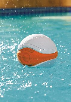Designed to float along on the surface while you lounge in the pool, bath, or hot tub, everyone loves this floating speaker.