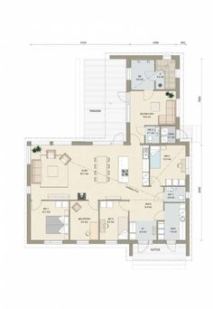 Kastelli - Plazia 154/178 PU House Floor Plans, Layout, Construction, Flooring, How To Plan, Architecture, Building, Interior, Home