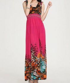 Floral Ankle Length Dress