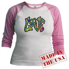 #Artsmith Inc             #ApparelTops              #Raglan #Psychedelic #LOVE #with #Peace #Symbol #Heart #Sign #Neon #Colors    Jr. Raglan Psychedelic LOVE with Peace Symbol Heart Sign Neon Colors                                    http://www.snaproduct.com/product.aspx?PID=7025965