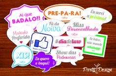 Plaquinhas para chá de lingerie! #festa #party #partydesign #chadelingerie #plaquinhas #cute #fun #funny #diversão #cool
