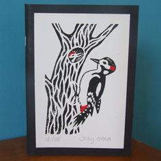 Great Spotted Woodpecker Sketch Book £6.50