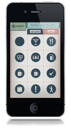 iPhone Diacarta Sample