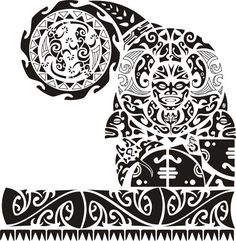 Wonderful Maori Polynesian Tattoos Design Maori Shoulder Tattoo - Coloring Page Ideas Maori Designs, Stammestattoo Designs, Polynesian Tattoo Designs, Polynesian Art, Neue Tattoos, Body Art Tattoos, Tribal Tattoos, Sleeve Tattoos, Top Tattoos