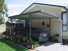 The wooden pergola is a good solution to add beauty to your garden. If you are not ready to spend thousands of dollars for building a cozy pergola then you may devise new strategies of trying out something different so that you can re Pergola Cost, Pergola Canopy, Outdoor Pergola, Diy Pergola, Outdoor Decor, Pergola Ideas, Pergola Shade, Modern Carport, Diy Carport