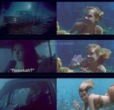OMG...The H2o days with Claire Holt and Phobe