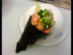 Sushi Hand Roll - Poor Man's Gourmet Kitchen -