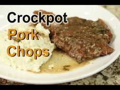 Crazy Slow Cooker Pork Chops - YouTube