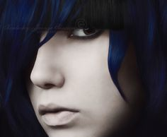 Dark Blue Hair absolutly love this color!!