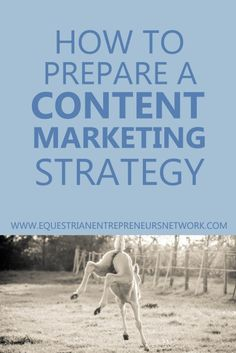 How to Prepare a Content Marketing Strategy, with Amy Cocke