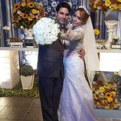 Registro da querida seguidora @eadvgarcia! Que nos acompanha por aqui mesmo depois do casamento!  #prontaparaosim #