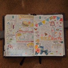 .@lyricomajumew | 11月のほぼ日手帳まとめ。 | Webstagram - Washi tape bunting and pictures of bows