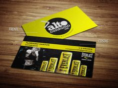 Cartões de visita - Alto Consumo - Store R3