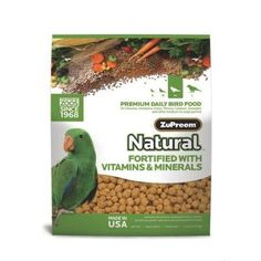 Zupreem Natural Daily Bird Food Medium/Large « Pet Lovers Ads