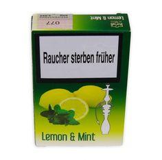 Al Waha Zitrone & Minze (Lemon & Mint) Shisha Tabak, 50g - Shisha Tabak kaufen