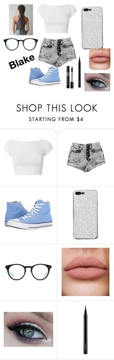"""""""Untitled #165"""" by katlyn-clifford on Polyvore featuring Helmut Lang, Carmar, Converse, NIKE, MAC Cosmetics and Christian Dior"""