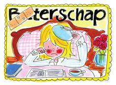 Beterschap (meisje ziek in bed) - Blond Amsterdam