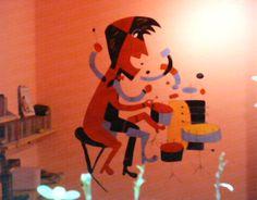 Mural- Jazz drummer- SP- Brazil