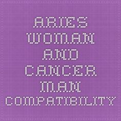 Aries woman and cancer man marriage compatibility