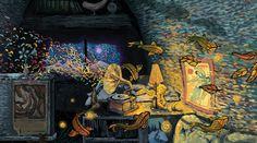 Light Visions Tarot Deck - James R Eads Illustration & Design Illustrations, Illustration Art, Owl City, Tarot Decks, Beauty Art, Oeuvre D'art, Traditional Art, Watercolor Paper, Art Forms