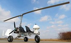A naked MTO-Sport Autogyro with Bigfoot tires; this setup would make a perfect observation platform for a number of unique applications such as movie videography, aerial photography, wildlife management & observation, etc.   This image is from Finland's AutoGyro distributor,  Kevytilmailu.com.