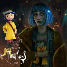 Realistic Drawings Coraline by Tati Moons Reasons why we need a live action Coraline movie Cartoon Cartoon, Cartoon Kunst, Cartoon Drawings, Modern Disney Characters, Female Characters, Cartoon Characters, Fictional Characters, Coraline Art, Coraline Jones