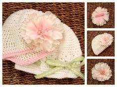 Crochet baby hats #crochet #baby