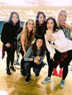 #YouTubeTuesday filming crew! Check out youtube.com/REFITREV for new choreo every week!