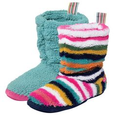 """So soft and comfy. Perfect for keeping your feet warm at home,"" - Lisa, Circulation"