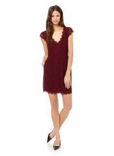 perfect for the holiday season - Babaton Tobias Dress, now available at Aritzia.com. #lace