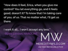quotes from the hacker series by meredith wild - Google Search
