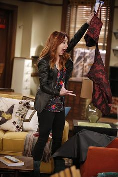 How I Met Your Mother (TV Series photos, including production still. Lily Aldrin, How Met Your Mother, Himym, Teen Choice Awards, Alyson Hannigan, Romance, I Meet You, Leather Blazer, Leather Dresses