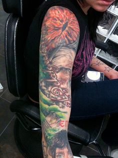 Lord of the Rings tattoo. *drooling*