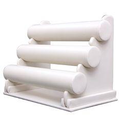 Espositore Porta braccialetti collane Bigiotteria Bianco JDS101: Amazon.it: Casa e cucina