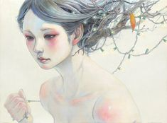Paintings by artist Miho Hirano, who is currently showing at Corey Helford Gallery in Los Angeles. More images below.               Images via Corey Helford Gallery Older work:               … Continue reading →